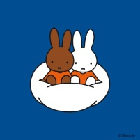 miffy and melanie on cloud