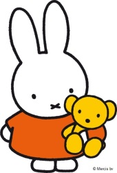 Miffy with bear