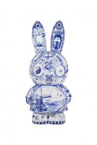 Blue Miffy by Hugo Kaagman