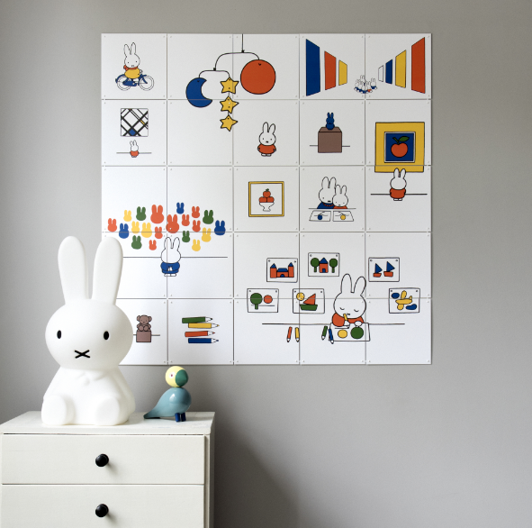 Have you ever wanted to create your own unique wall art? Well now you can with a little help from Miffy! & Create Your Own Wall Art | Miffy Blogs