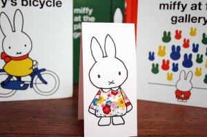 Fabric dress miffy