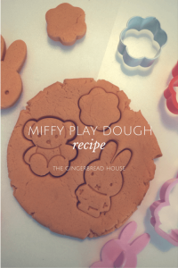 miffy play dough