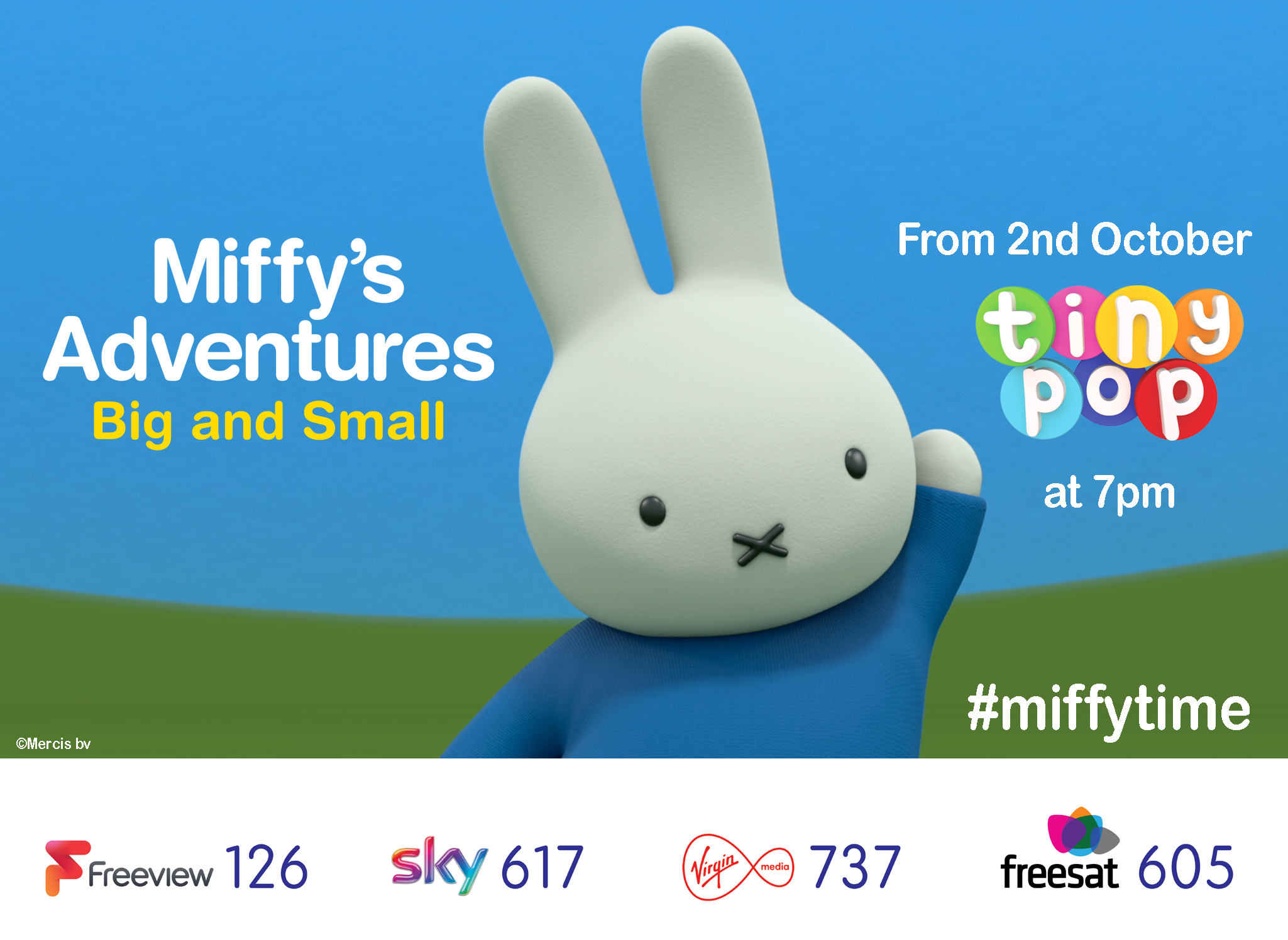 2nd October, Miffy fans can watch Miffy ...