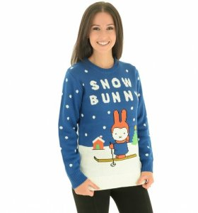 Christmas Jumper on model