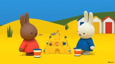 Miffy's Adventures Big and Small at the Beach