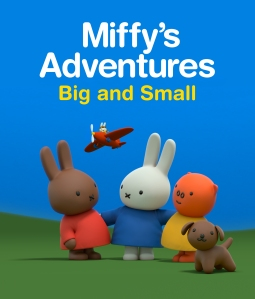Miffy's Adventures on Tiny Pop Logo