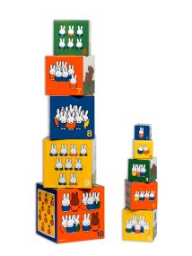 33093 Miffy stacking cubes towers
