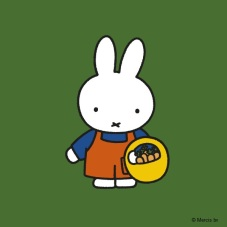 miffy with carrots in basket