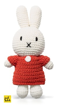 Just Dutch Crochet Miffy Red
