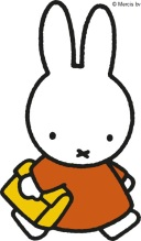miffy going to school with school bag