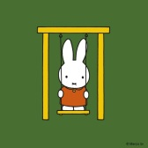 miffy on swing