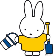 Miffy with Bucket and Spade 2