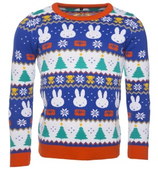 Unisex_Miffy_Fairisle_Knitted_Jumper £34_99