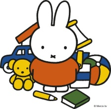 miffy with toys