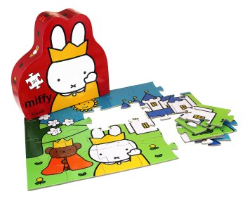 Queen Miffy Puzzle, £15, miffyshop.co.uk